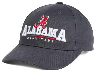 Alabama Crimson Tide Top of the World NCAA Charcoal Teamwork Snapback Cap
