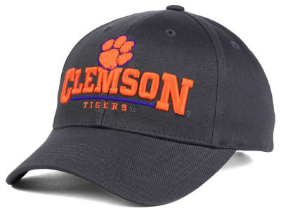 Clemson Tigers Top of the World NCAA Charcoal Teamwork Snapback Cap