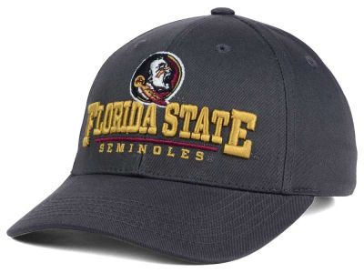 Florida State Seminoles Top of the World NCAA Charcoal Teamwork Snapback Cap