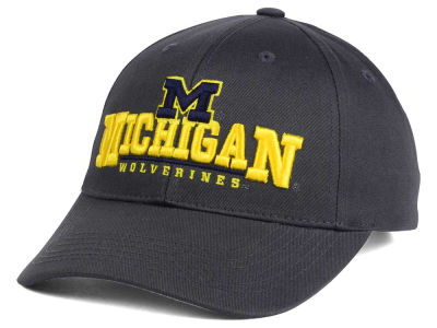 Michigan Wolverines Top of the World NCAA Charcoal Teamwork Snapback Cap