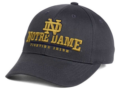 Notre Dame Fighting Irish NCAA 2 for $25 Top of the World NCAA Charcoal Teamwork Snapback Cap