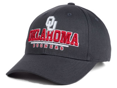 Oklahoma Sooners NCAA 2 for $25 Top of the World NCAA Charcoal Teamwork Snapback Cap