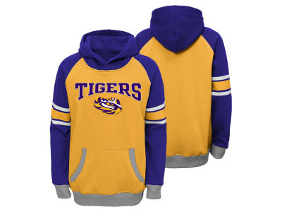 LSU Tigers NCAA Youth Robust Hoodie