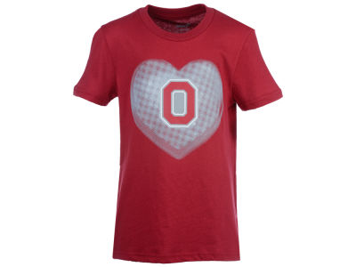 Ohio State Buckeyes Outerstuff NCAA Youth Girls Watercolors T-Shirt