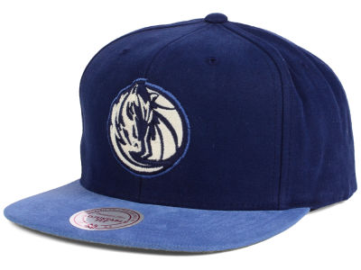 Dallas Mavericks Mitchell and Ness NBA Sandy Off White Snapback Cap