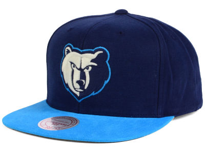 Memphis Grizzlies Mitchell and Ness NBA Sandy Off White Snapback Cap