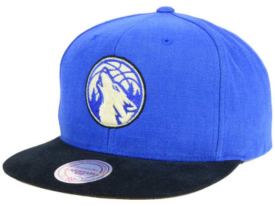 Minnesota Timberwolves Mitchell and Ness NBA Sandy Off White Snapback Cap