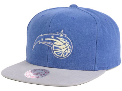 Orlando Magic Mitchell and Ness NBA Sandy Off White Snapback Cap
