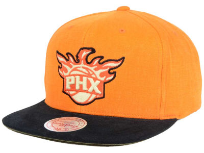 Phoenix Suns Mitchell and Ness NBA Sandy Off White Snapback Cap