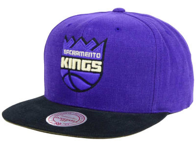 Sacramento Kings Mitchell and Ness NBA Sandy Off White Snapback Cap