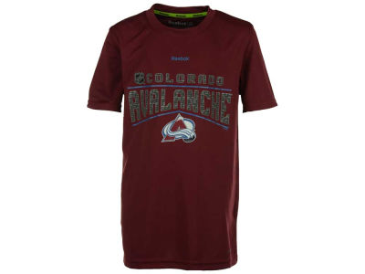 Colorado Avalanche adidas NHL Youth TNT Freeze Reflect T-Shirt
