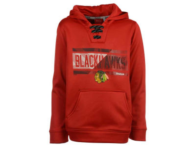 Chicago Blackhawks adidas NHL Youth Hockey Hoodie