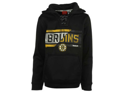 Boston Bruins adidas NHL Youth Hockey Hoodie