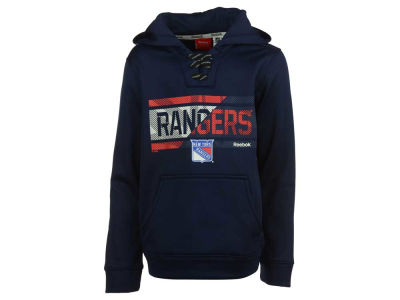 New York Rangers adidas NHL Youth Hockey Hoodie