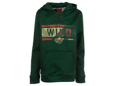 Minnesota Wild adidas NHL Youth Hockey Hoodie