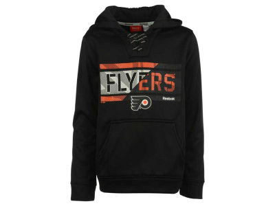 Philadelphia Flyers adidas NHL Youth Hockey Hoodie