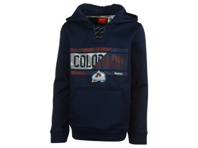 Colorado Avalanche adidas NHL Youth Hockey Hoodie