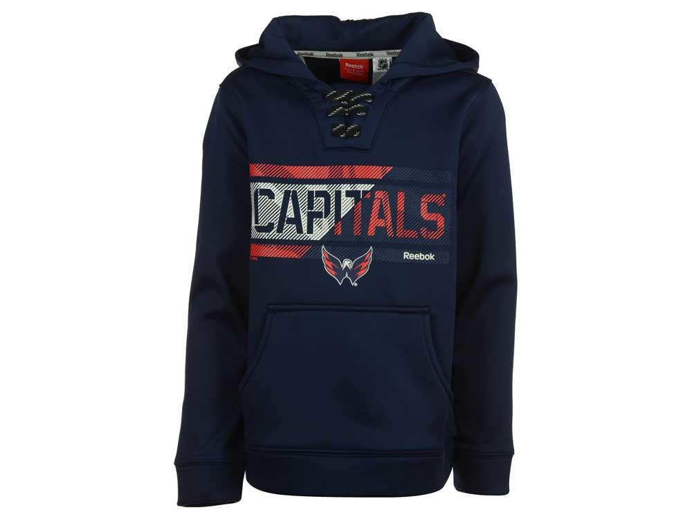 Washington Capitals adidas NHL Youth Hockey Hoodie  98bd9696f