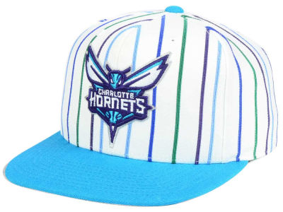 Charlotte Hornets Mitchell and Ness NBA Throwback Fitted Cap