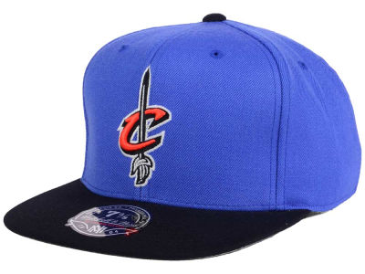 Cleveland Cavaliers Mitchell and Ness NBA Throwback Fitted Cap