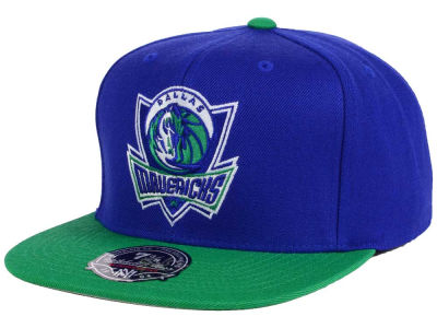 Dallas Mavericks Mitchell and Ness NBA Throwback Fitted Cap