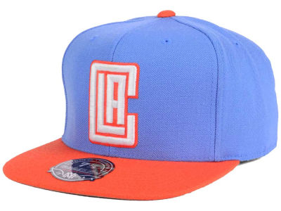 Los Angeles Clippers Mitchell and Ness NBA Throwback Fitted Cap