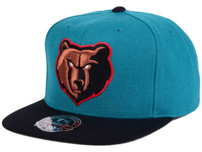 Memphis Grizzlies Mitchell & Ness NBA Throwback Fitted Cap