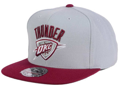 Oklahoma City Thunder Mitchell and Ness NBA Throwback Fitted Cap