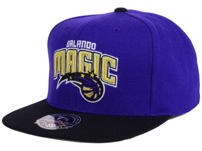 Orlando Magic Mitchell and Ness NBA Throwback Fitted Cap