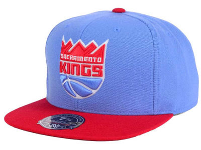 Sacramento Kings Mitchell and Ness NBA Throwback Fitted Cap