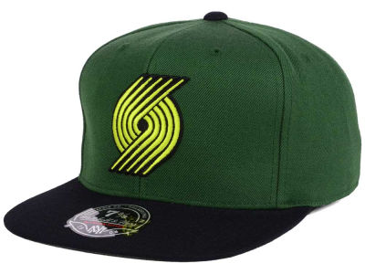 Portland Trail Blazers Mitchell and Ness NBA Throwback Fitted Cap