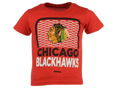 Chicago Blackhawks adidas NHL Toddler Center Goal T-Shirt