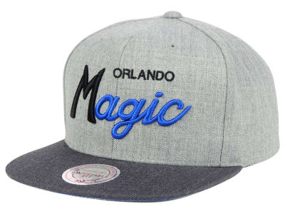 Orlando Magic Mitchell and Ness NBA Tri Pop Special Script Snapback Cap