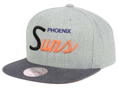 Phoenix Suns Mitchell and Ness NBA Tri Pop Special Script Snapback Cap