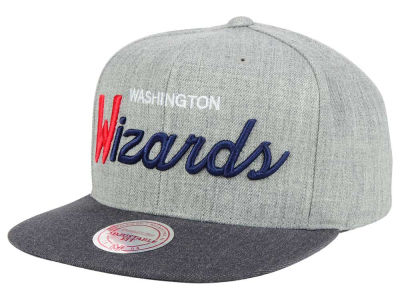 Washington Wizards Mitchell and Ness NBA Tri Pop Special Script Snapback Cap