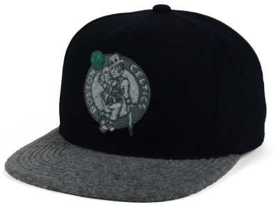 Boston Celtics Mitchell and Ness NBA Fuzz 2Tone Fitted Cap