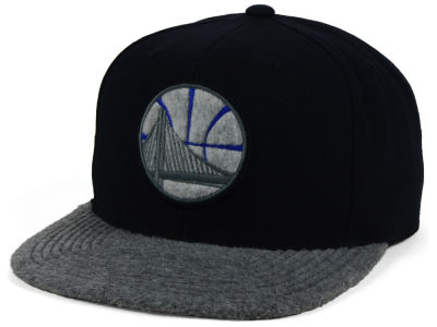 Golden State Warriors Mitchell & Ness NBA Fuzz 2Tone Fitted Cap