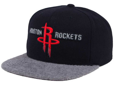Houston Rockets Mitchell & Ness NBA Fuzz 2Tone Fitted Cap