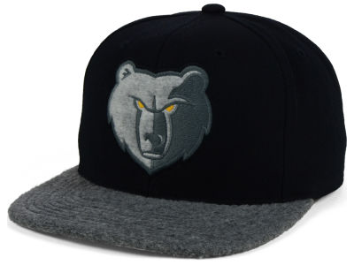 Memphis Grizzlies Mitchell & Ness NBA Fuzz 2Tone Fitted Cap