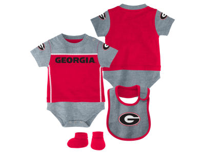 Georgia Bulldogs NCAA Newborn Lil Jersey Set