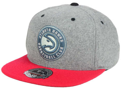Atlanta Hawks Mitchell & Ness NBA Greyton Fitted Cap