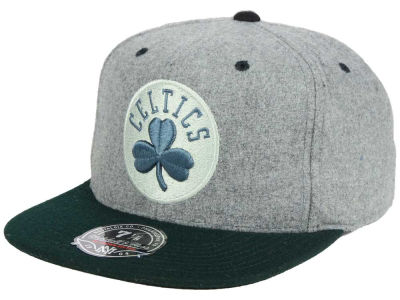 Boston Celtics Mitchell & Ness NBA Greyton Fitted Cap