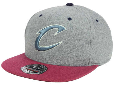 Cleveland Cavaliers Mitchell and Ness NBA Greyton Fitted Cap