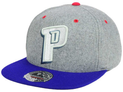 Detroit Pistons Mitchell and Ness NBA Greyton Fitted Cap