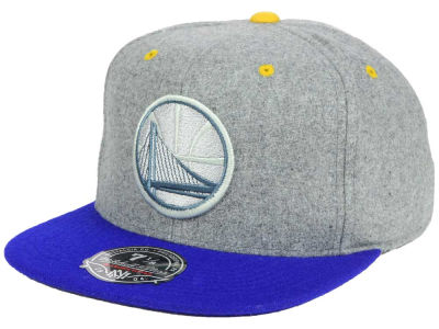 Golden State Warriors Mitchell and Ness NBA Greyton Fitted Cap