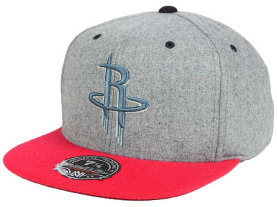 Houston Rockets Mitchell and Ness NBA Greyton Fitted Cap