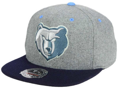 Memphis Grizzlies Mitchell & Ness NBA Greyton Fitted Cap