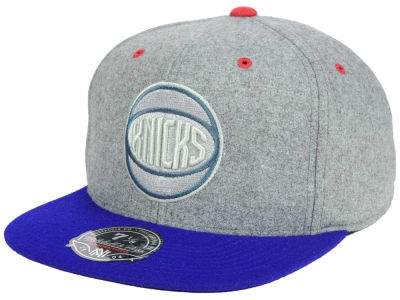 New York Knicks Mitchell and Ness NBA Greyton Fitted Cap