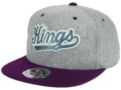 Sacramento Kings Mitchell and Ness NBA Greyton Fitted Cap