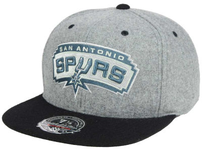 San Antonio Spurs Mitchell and Ness NBA Greyton Fitted Cap